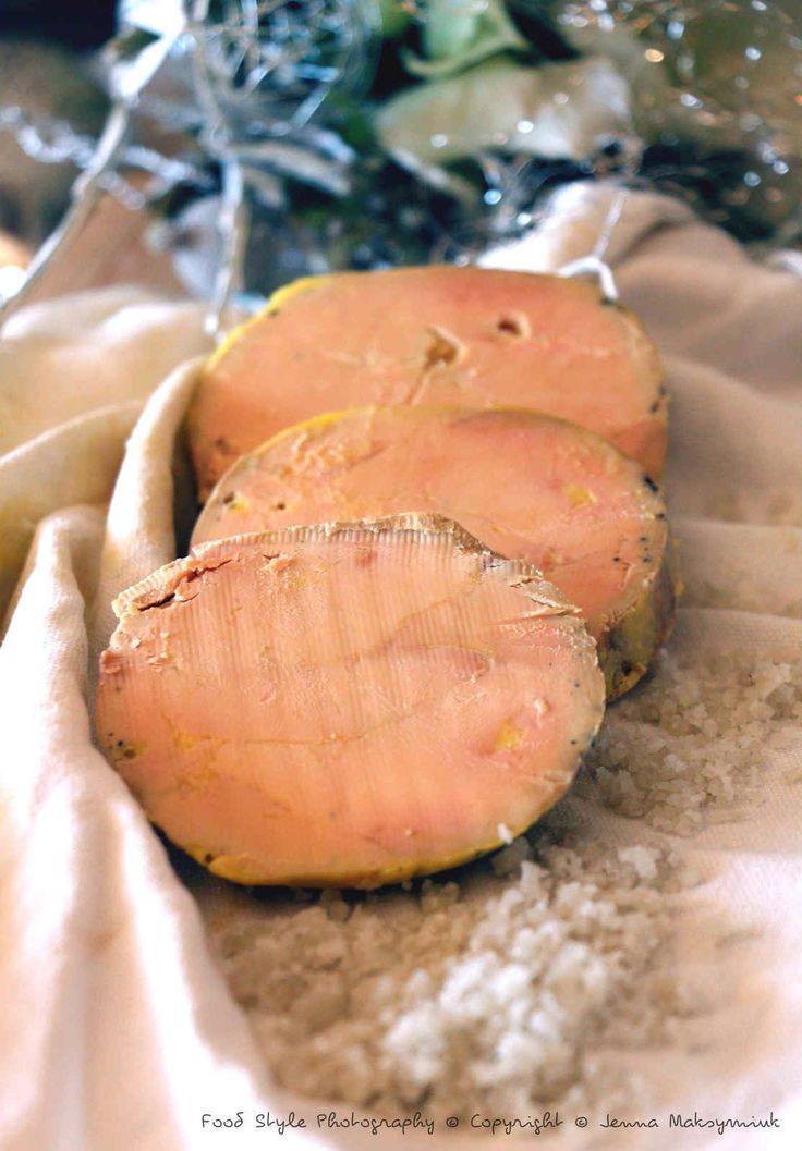 Foie gras au torchon (à conseiller)