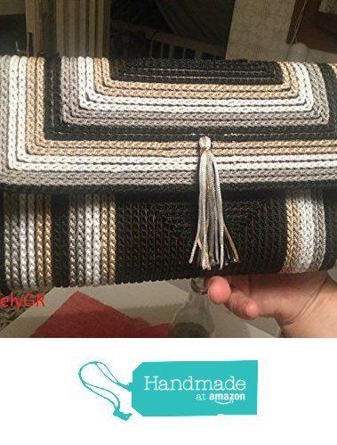 Women's Crocheted Bobbin Purse Plastic Canvas Handbags Bags&Purses Summer Bags from LovelyGR https://www.amazon.com/dp/B072W5LJQ7/ref=hnd_sw_r_pi_dp_jVrwzbMCVTDS5 #handmadeatamazon