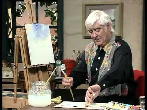 Frank Clarke Simply Painting - Aasleagh Falls - YouTube