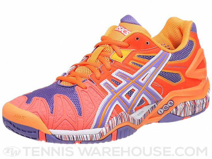 Asics Gel Resolution 5 Orange/Purple Women's Shoes
