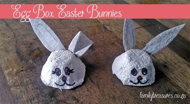 Egg Box #Easter Bunny School Holiday Craft