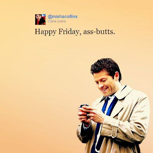 Supernatural - Misha Collins as Castiel I'm thinking Supernatural needs it own board at this point.