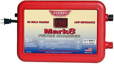 Parmak MARK8 Low Impedance 110/120-Volt 30-Mile Range Electric Fence... [NO VAT]