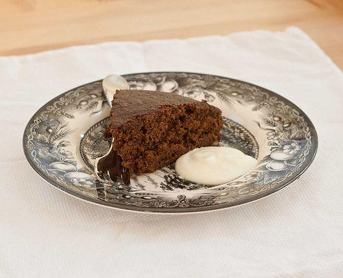 Fannie Farmer Chocolate Buttermilk Cake