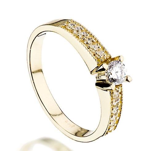 Inel de logodna cu diamant DR202