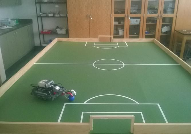 how to play soccer with lego mindstorms