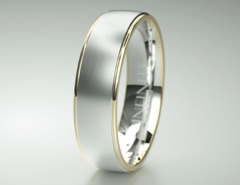 Simply elegant, simply timeless. Mens Wedding Rings – Mens Wedding bands by Infinity Rings Available in Platinum, White, Yellow and Rose Gold, Titanium and Palladium #weddingring