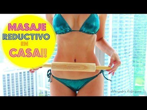 Como Reducir Cintura y Abdomen!! Masaje Reductivo en Casa!! - YouTube
