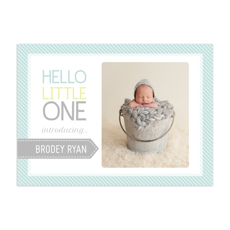 86 best Birth Announcements images on Pinterest Baby - announcement template