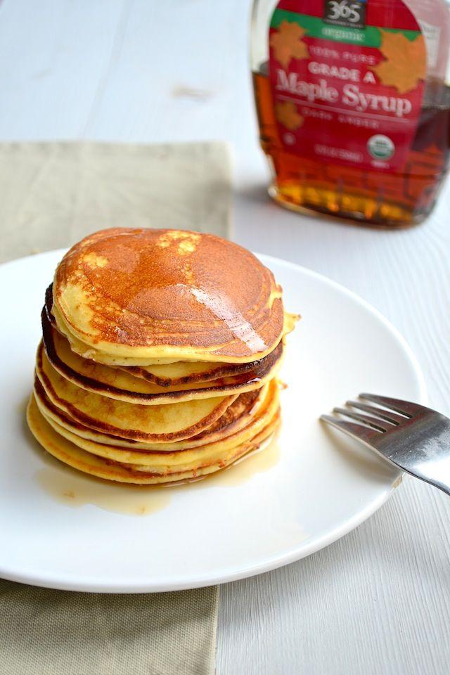 Lees hier mijn recept voor lekkere en luchtige ricotta pannenkoekjes.