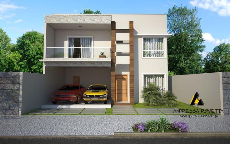 Fotos de fachadas de casas duplex for Fachadas de apartamentos modernas