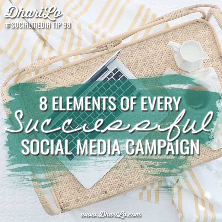 There are basic building blocks to ensure your business gets the most out of its social media initiatives. Here are 8 elements of every successful social media campaign.