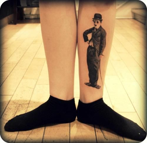 9 best images about charlie chaplin tattoos on pinterest for Charlie s tattoo