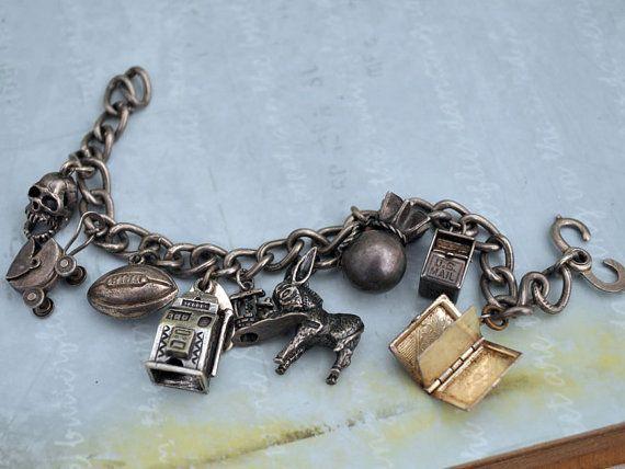Charm Bracelet - DUSTY BYZANTINE & CHERRY by VIDA VIDA FkiptlP