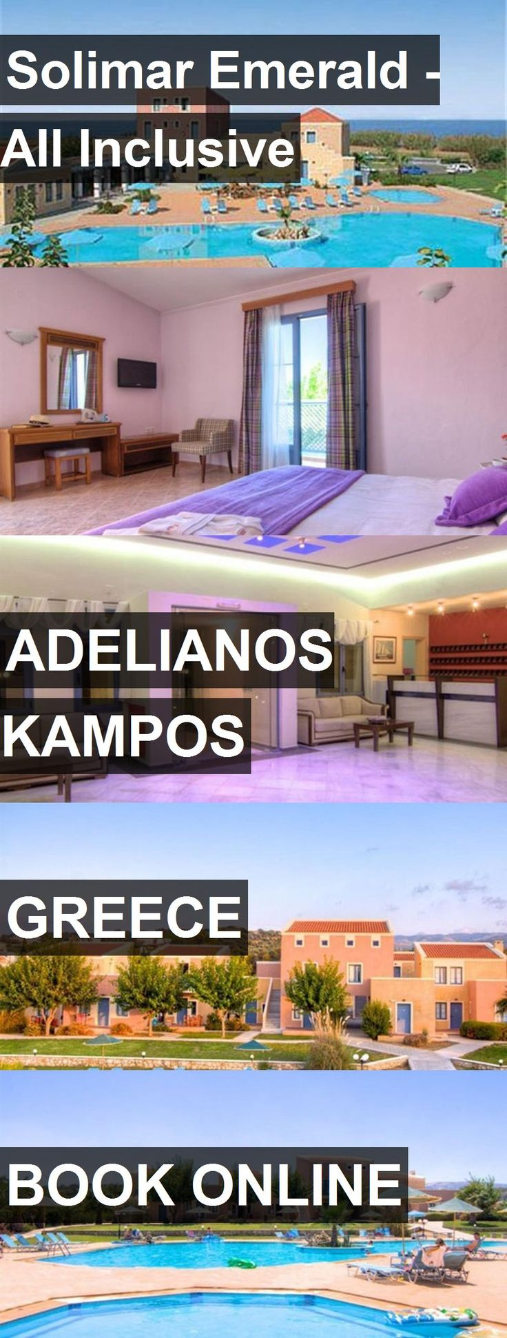 Hotel Solimar Emerald - AIl Inclusive in Adelianos Kampos, Greece. For more information, photos, reviews and best prices please follow the link. #Greece #AdelianosKampos #SolimarEmerald-AIlInclusive #hotel #travel #vacation