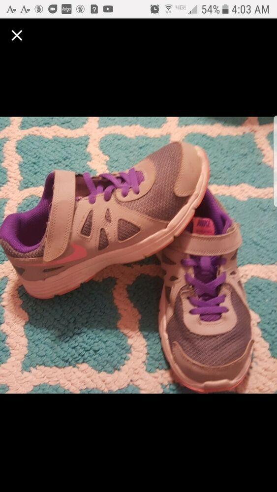 Girl's Nike Shoes Size1.5 #fashion #clothing #shoes