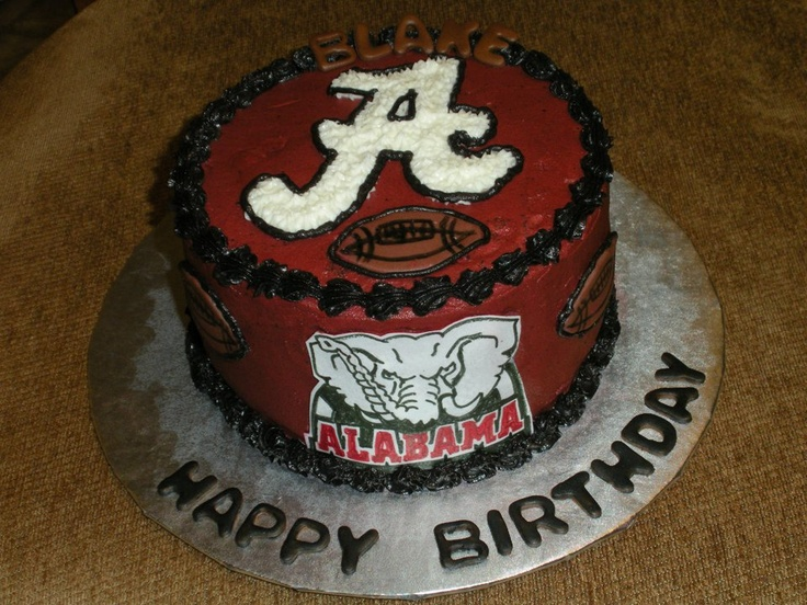 Pictures Of Alabama Birthday Cakes