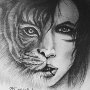 soo awesome drawing from andy biersack