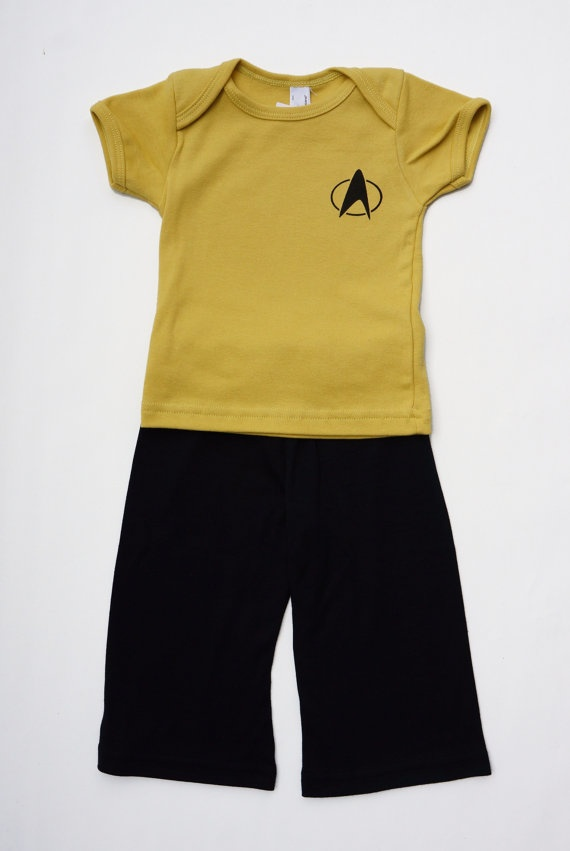 Baby Gifts Organic Star Trek shirt and by PurpleTentacleShop, $35.00