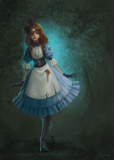 Steampunk Alice - I actually really like this version.