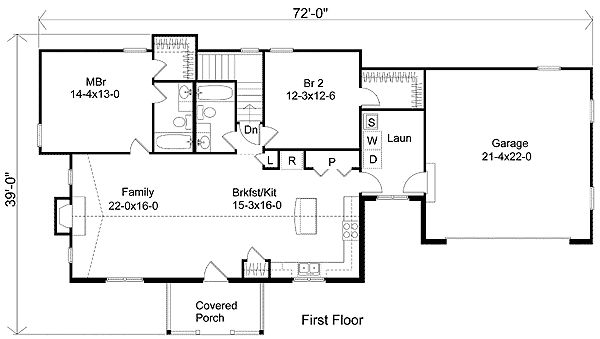 1000 images about river house plans on pinterest house for Simple open floor plans