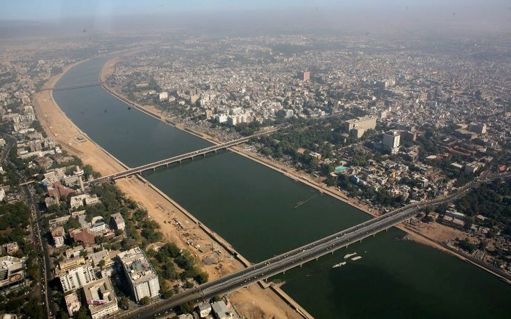 Sabarmati River Ahmedabad City