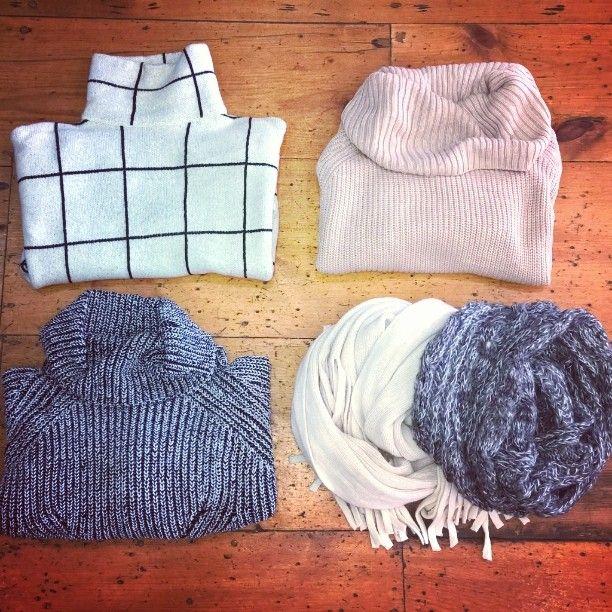 New arrivals!  #newarrivals #newinstore #clothing #knitwear #rollneck #winterfashion #winteriscoming #portfairy #shop3284 by evolvelifestyle