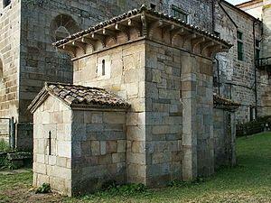 Capilla mozárabe de San Miguel Arcángel. Celanova.