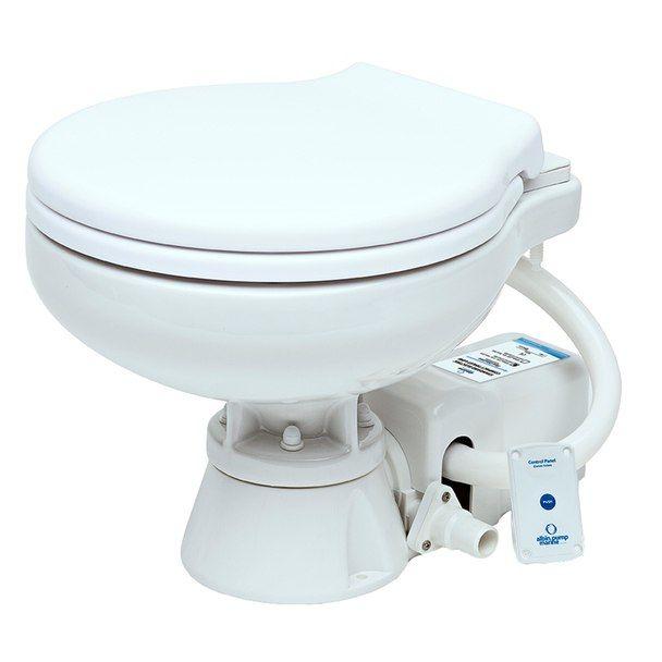 Albin Pump Marine Toilet Standard Electric Evo Compact Low 12v 07 02 008 Toilet Electric Toilet Electricity
