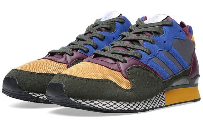 """Kazuki x adidas ZXZ 930 84-Lab """"Burgundy & Blue"""" - EU Kicks: Sneaker Magazine"""