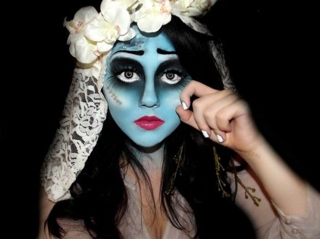 Trucco per Halloween per donne! Sposa cadavere!