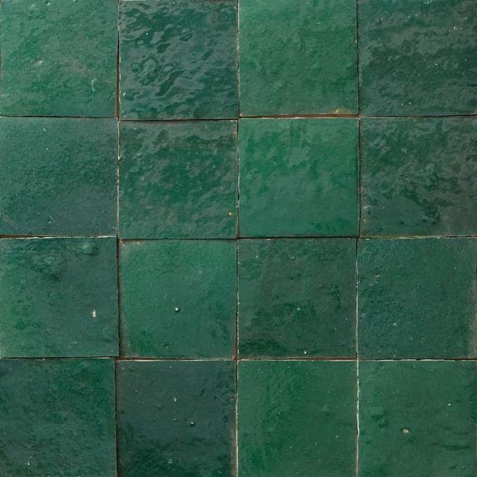 Zellige Tiles Dark Green Dark Green Walls Dark Green Kitchen Tiles