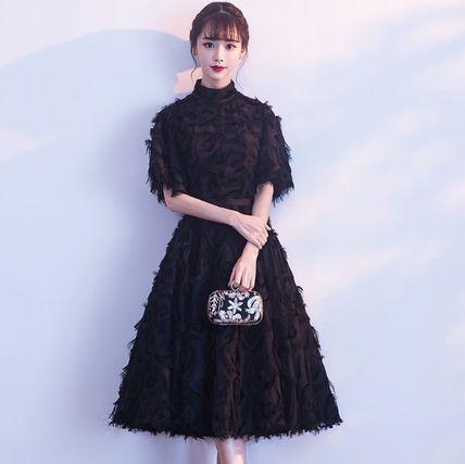 ハイネック ドレス ワンピース パーティー 結婚式 二次会(33855966):商品名(商品ID):バイマは日本にいながら日本未入荷、海外限定モデルなど世界中の商品を購入できるソーシャルショッピングサイトです。充実した補償サービスもあるので、安心してお取引できます。