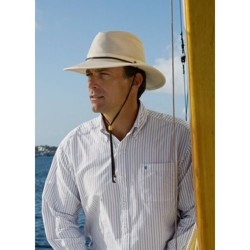 a020b512209ee Coolibar UPF 50+ Mens Crushable Ventilated Hat - Sun Protective ...