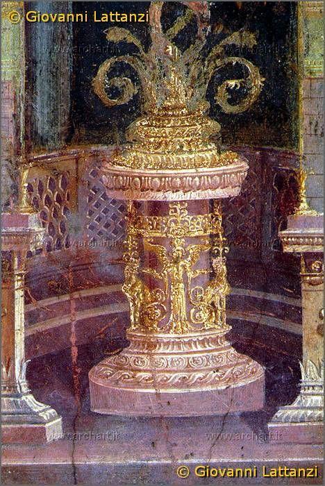 Frescoes , Casa dei Vettii , Pompei , Italy