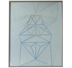 Symmetri nr. 2, paper cut
