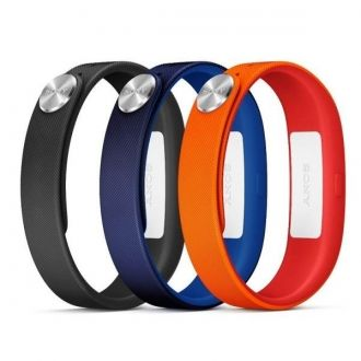 SWR110 Sony Pasek na nadgarstek Small orange, blue, black