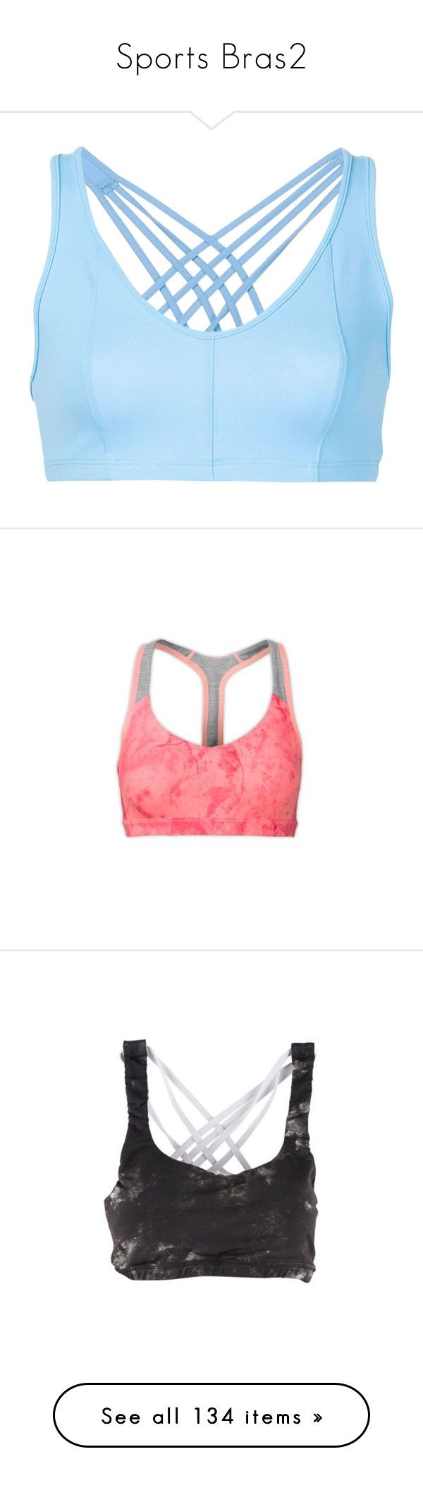 """""""Sports Bras2"""" by daniela-rosario ❤ liked on Polyvore featuring activewear, sports bras, black, black sports bra, neon peach, the north face, neon sports bra, red sports bra, neon activewear and white"""