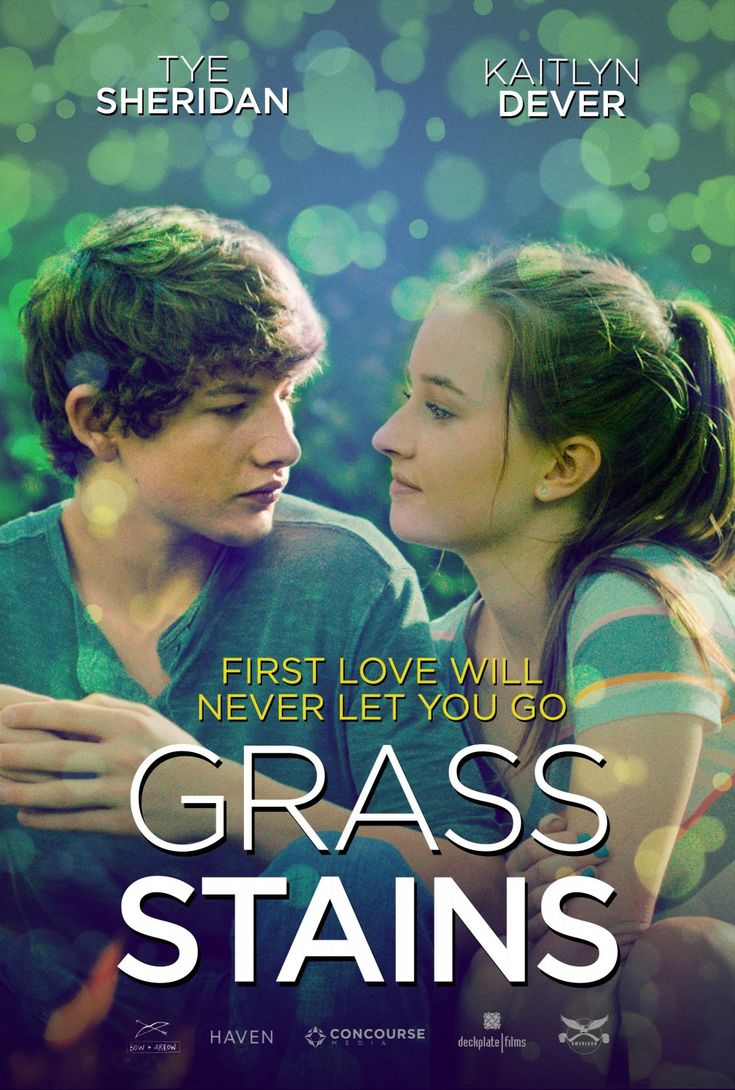 Grass Stains Movie Poster with Tye Sheridan and  Kaitlyn Dever http://ift.tt/2kQlG3J