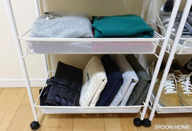 Ikeaのhornavanワゴンが便利 洗面所やキッチン デスク横の収納におすすめ 画像あり 収納 アイデア 収納 キッチン デスク