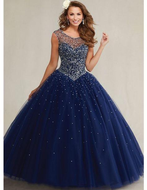 4a958bc8a Quinceanera 15 años vestidos de 15 años 2015 azul del dulce 16 vestidos de  la muchacha