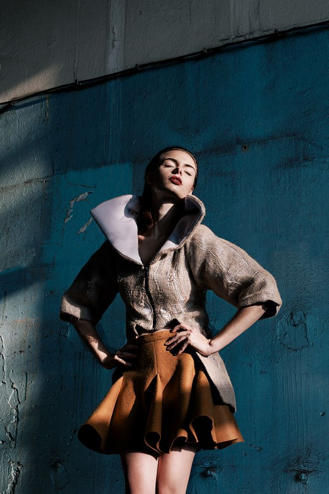 photo shoot of fludra slow fashion SS13 collection, designer, styling, photo shoot production Anna Fludra, photo @moonsafaripix