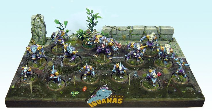 CoolMiniOrNot - Lizardmen for blood bowl by Pixmen
