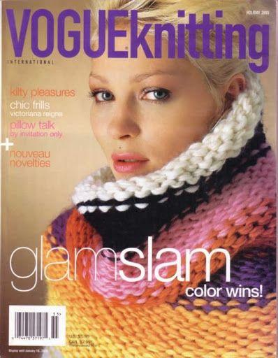 2005 Holiday   Vogue Knitting