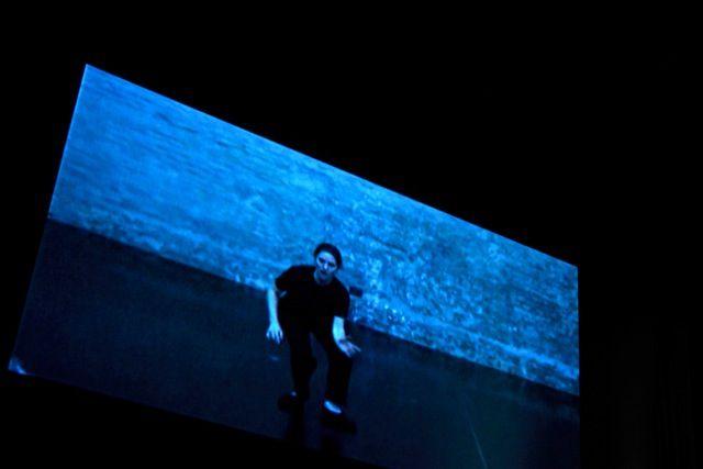 """Clase Magistral de Aldo El Jatib """"El Twatro Fantasmal: de la Acción de Gracias al efecto fantasmal del encantamiento"""" en Museo MALBA (19 de Julio 2014) foto: Ernesto Donegana"""