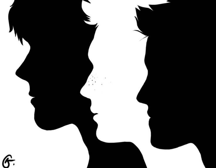 Supernatural - Sam - Dean - Castiel team_free_will_silhouettes_by_rdjpwns-d6quhfm.png (800×623)