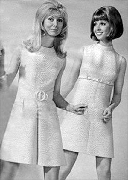 Мода и стиль 60-х годов. Как одеться в стиле 60-х: платья