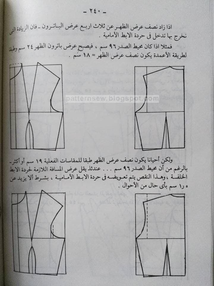 دروس لعمل الباترون الاساسي Pattern Sewing Corset Sewing Pattern Blouse Pattern Sewing Shorts Pattern Sewing