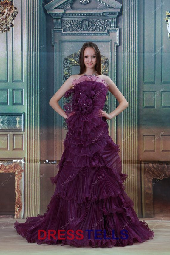 The 25 best Purple wedding gown ideas on Pinterest Purple