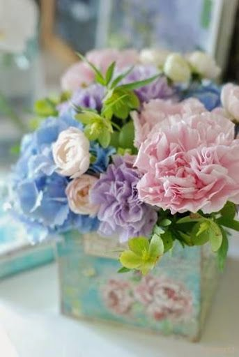477 best images about fresh flowers for your office on for Pastel colored flower arrangements